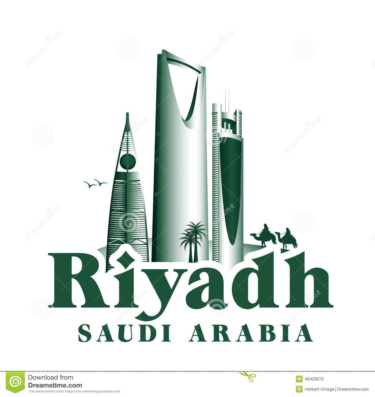 Saudi Arabia Skyline Illustration Google Search Riyadh Saudi Arabia Saudi Arabia Vector Illustration