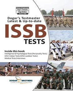 ISSB Test Preparation Book & Sucess Guide By Career Finder I Dogar Brothers