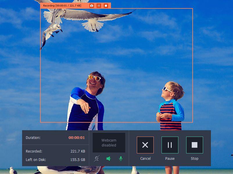 Movavi screen capture review