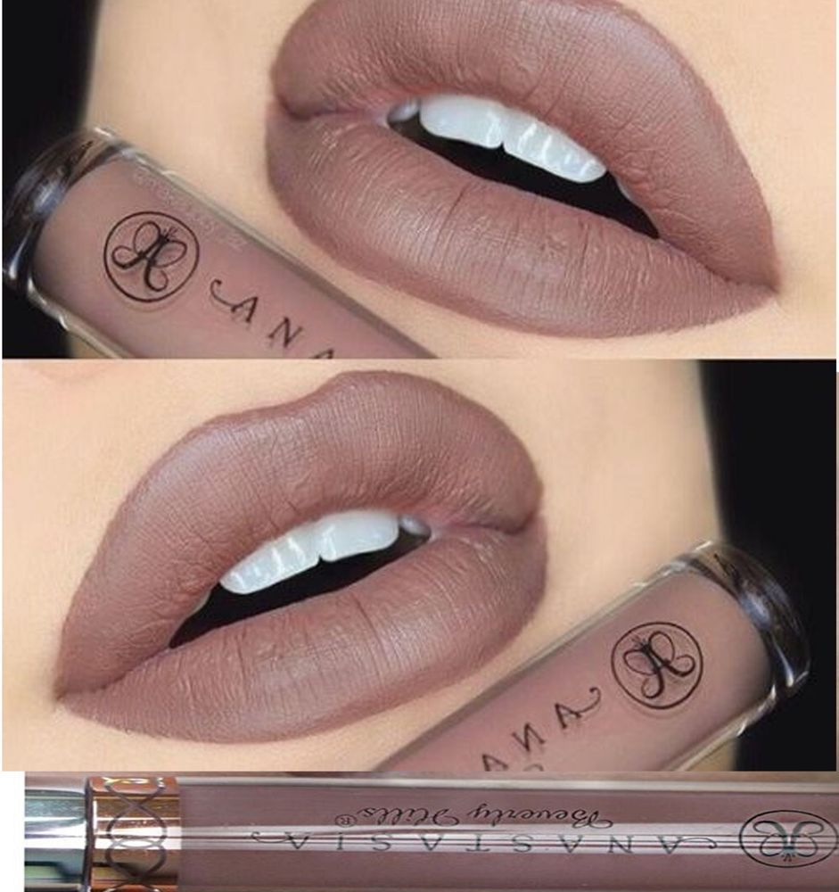 Anastasia beverly hills liquid lipstick sepia