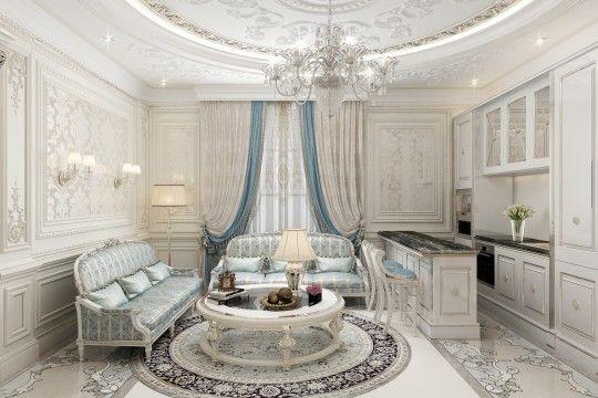 Villa in Abu Dhabi | Home interior design, Interior design ...