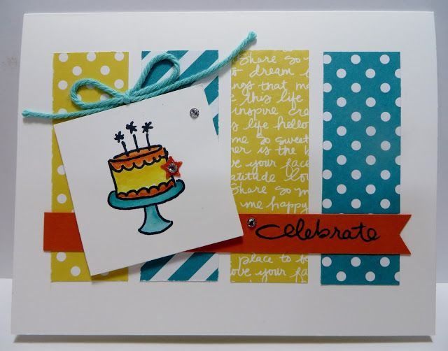 Lynn's Locker: Stampin' Up Endless Birthday Wishes Card Class II