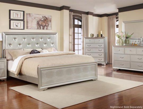 Nathan Grey 5 Piece Queen Bedroom Set Outlet At Art Van