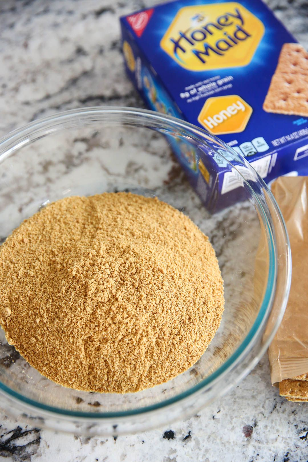 Basic Graham Cracker Crust #homemadegrahamcrackercrust