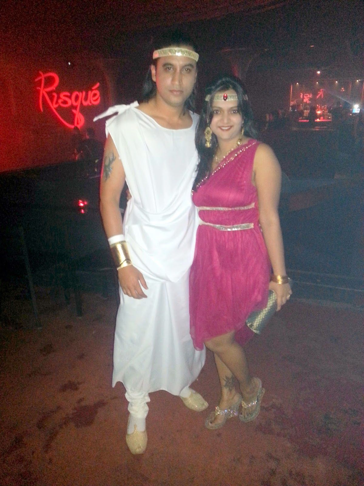 Ananya Tales: Local Events, Greek god and godess ,Halloween couple