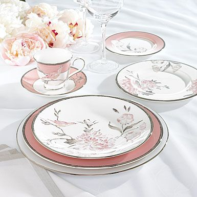 Marchesa by Lenox Spring Lark Dinnerware  sc 1 st  Pinterest & Lenox China Marchesa Spring Lark 5 Piece Place Setting | Dinnerware ...