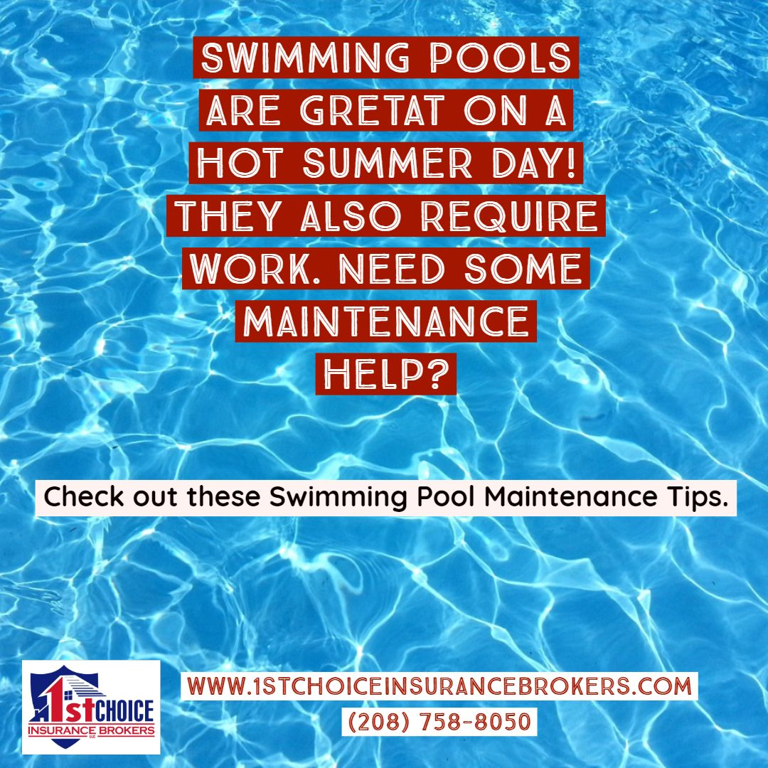 10 Pool Maintenance Tips Pool maintenance, Maintenance, Pool