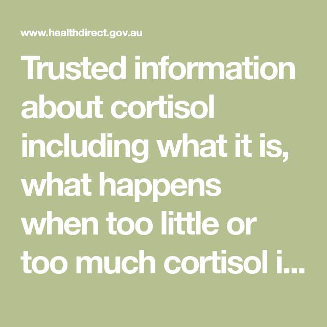 lavt cortisol
