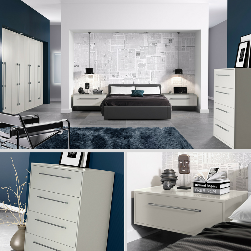 Lunar Platinum #bedroom #furniture Inspired By European Design And  #contemporaryu2026