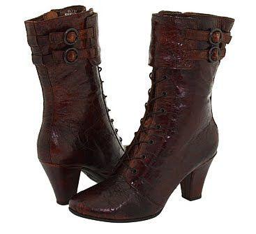 Autumn style, Vintage calf boot