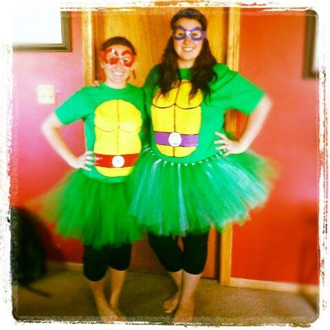 Diy ninja turtle halloween costumes costume pinterest tut diy ninja turtle halloween costumes solutioingenieria Image collections