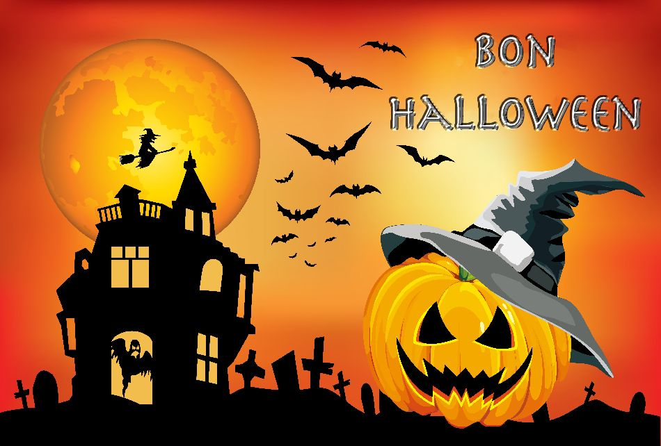 Bon halloween | Créations d'halloween, Fond halloween, Photo halloween