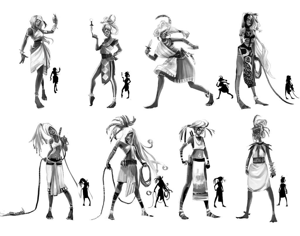 game character design - Google Search | Concept Art | Pinterest ...