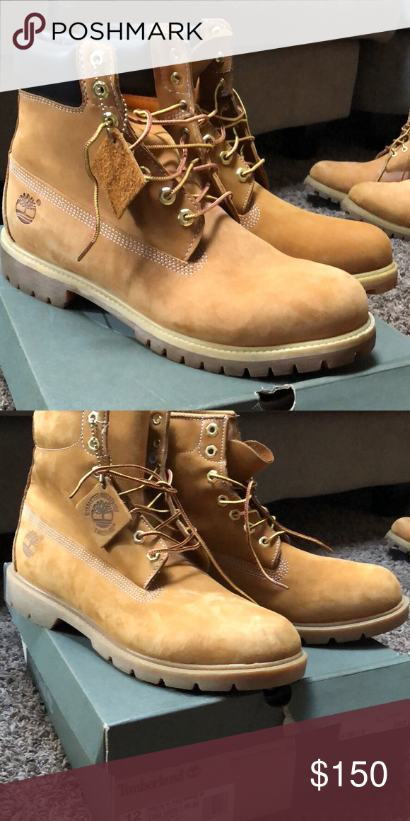 Timberlands Men size 12 Wore once! Clean sole Timberland