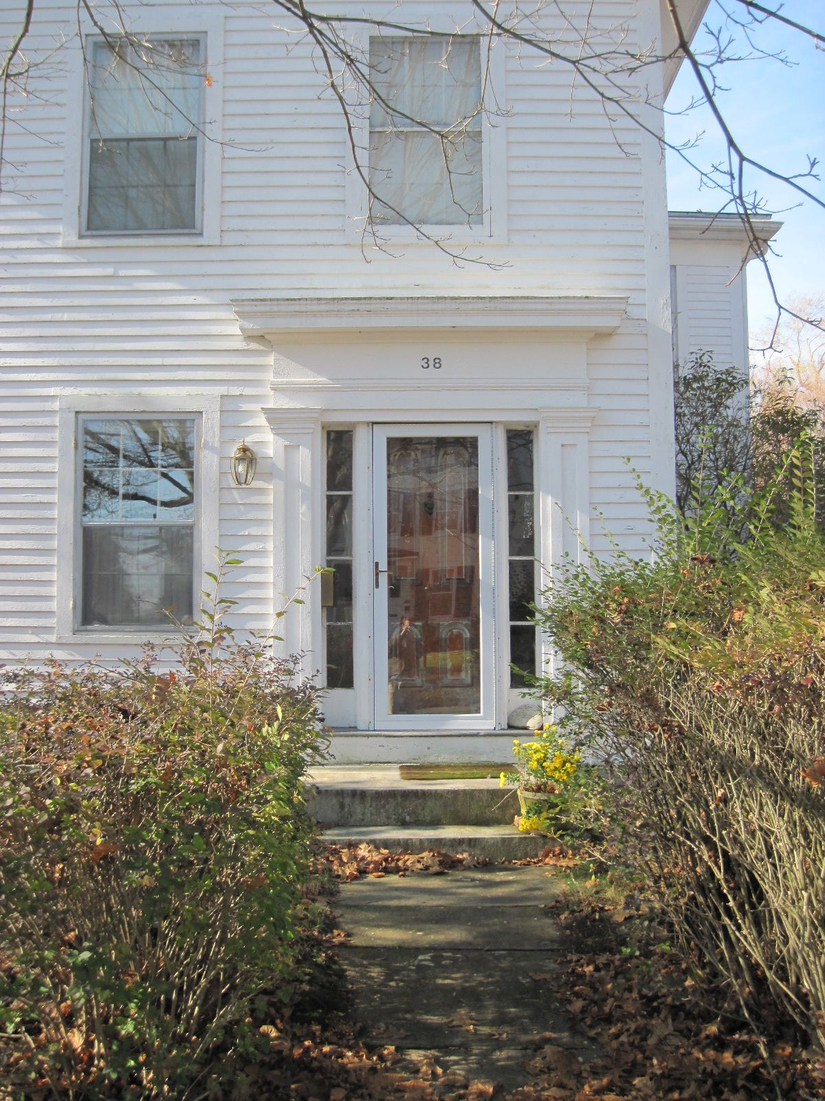 The Door Cap Outdoor Decor Exterior Visual