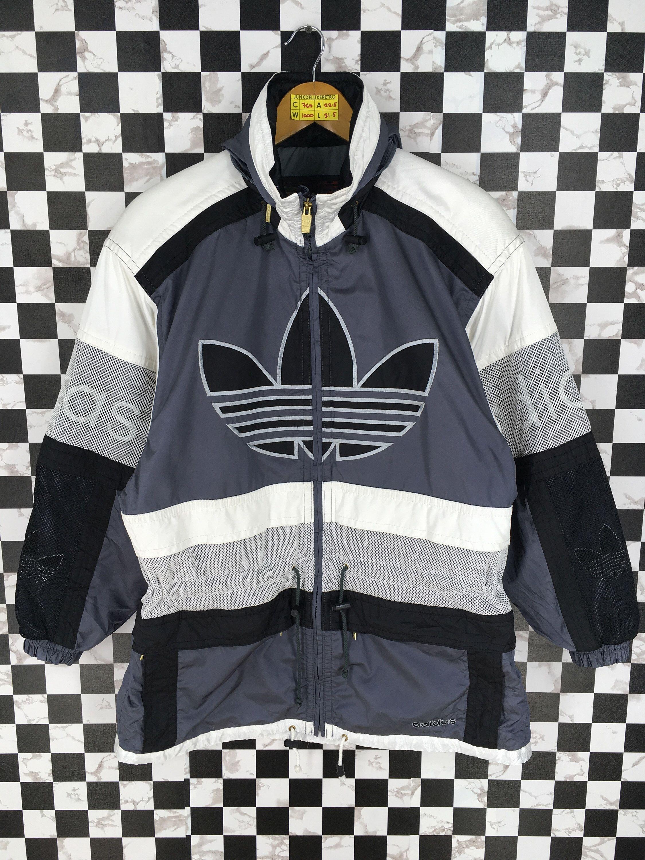 Vintage Adidas Track suit Jacket Jogging Top Size Medium