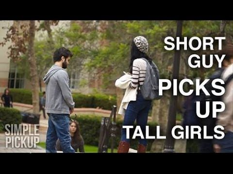 Short Guy Picks Up Tall Girls