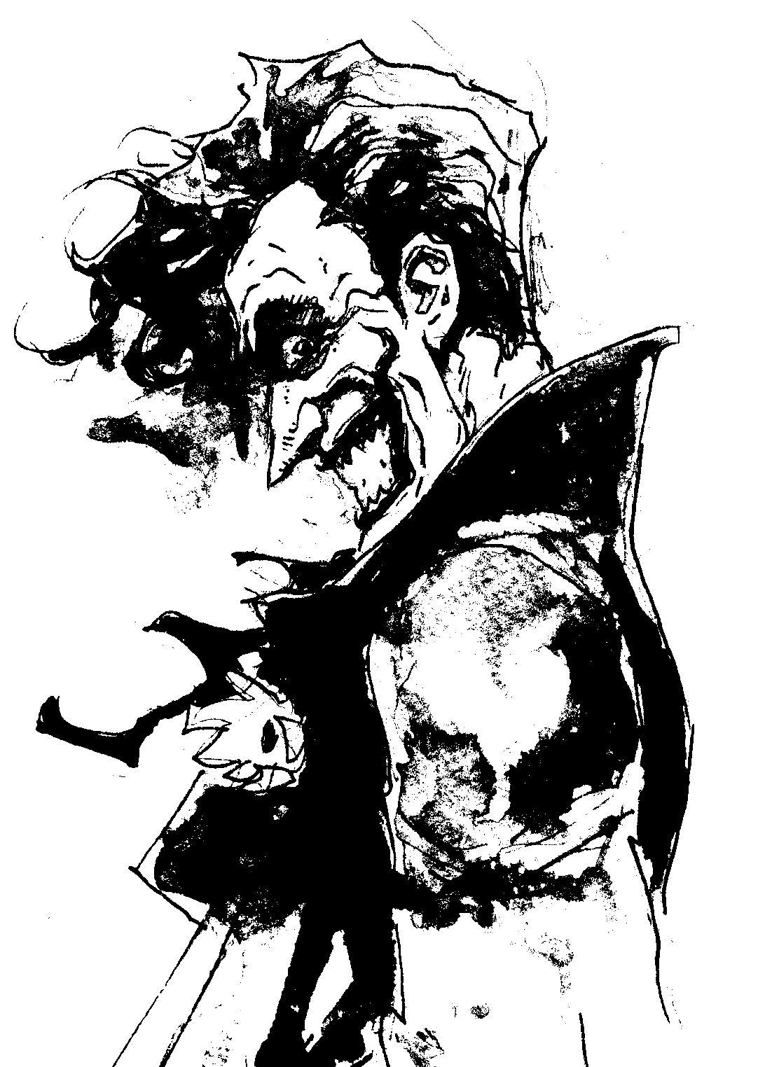 vikaq: Joker Black and White