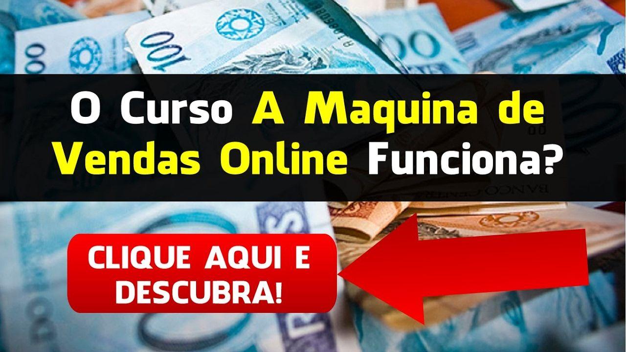 A Máquina de Vendas Online Tiago Bastos versão 4.0  Conheça o curso que mudou a vida de milhares de pessoas, ensinando uma forma de trabalho legal pela internet! 💵  Acesse o link no vídeo 💵