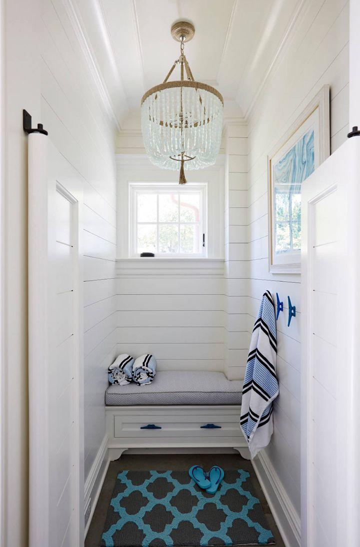 Jules Duffy Designs Pool House Bathroom Pool House Interiors