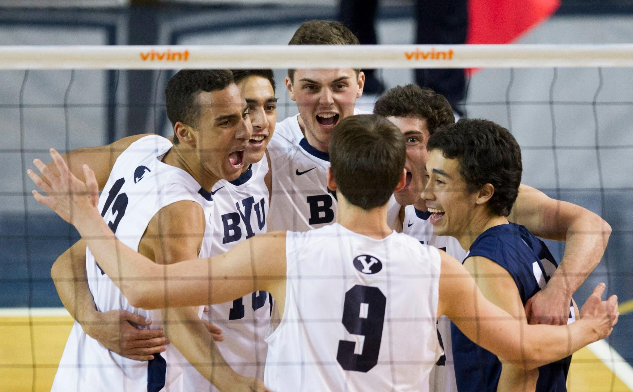 Ben Patch Taylor Sander Russ Lavaja Tyler Heap Josue Rivera Jaylen Reyes Byu Ucla Mpsf Tournament Semifinals Byu Wins 3 Mens Volleyball Ucla My Boys