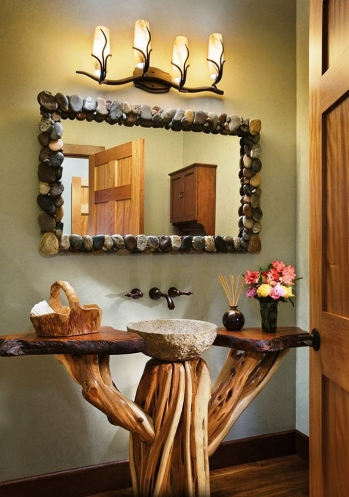 Diy Rustic Bathroom Mirrors Stribal Com Design Interior Home