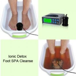 Detox Foot Spa Cleanse Machine 6 Spa Cleanse Foot Spa Detox