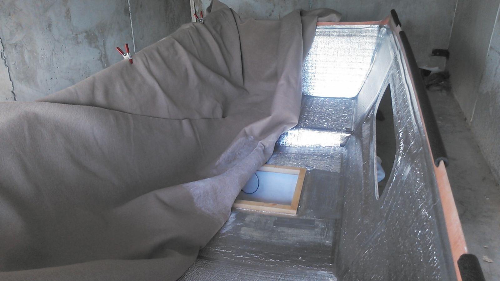 Hightop insulation/headliner   Vanagon   Projects, High tops
