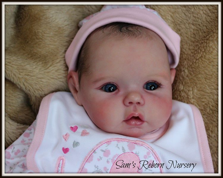 Beautiful PROTOTYPE Reborn Baby Doll ~ Mika ~ Sam's Reborn Nursery ~ #Reborn