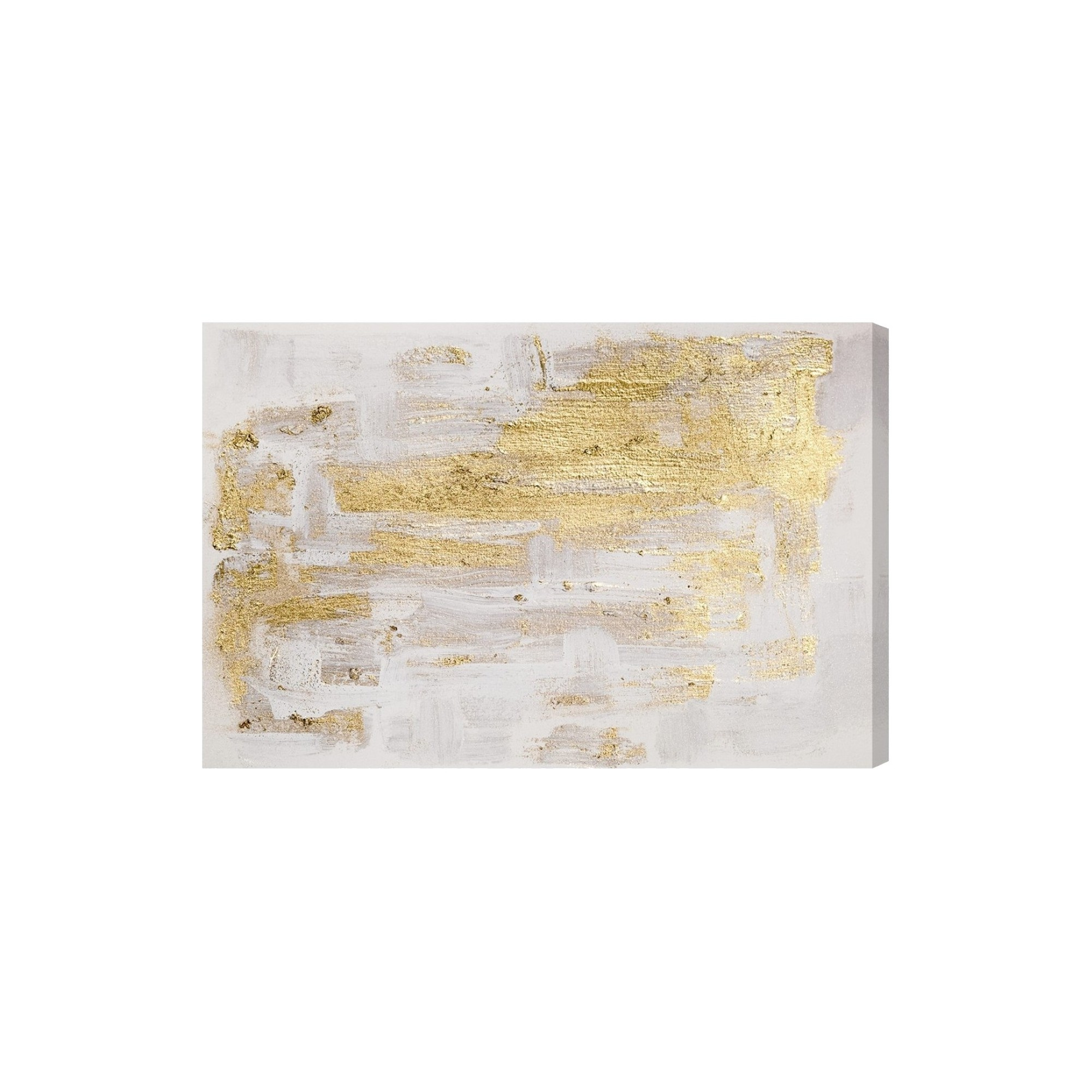 Oliver Gal Unframed Wall Pure Love Canvas Art (24X36), Gold