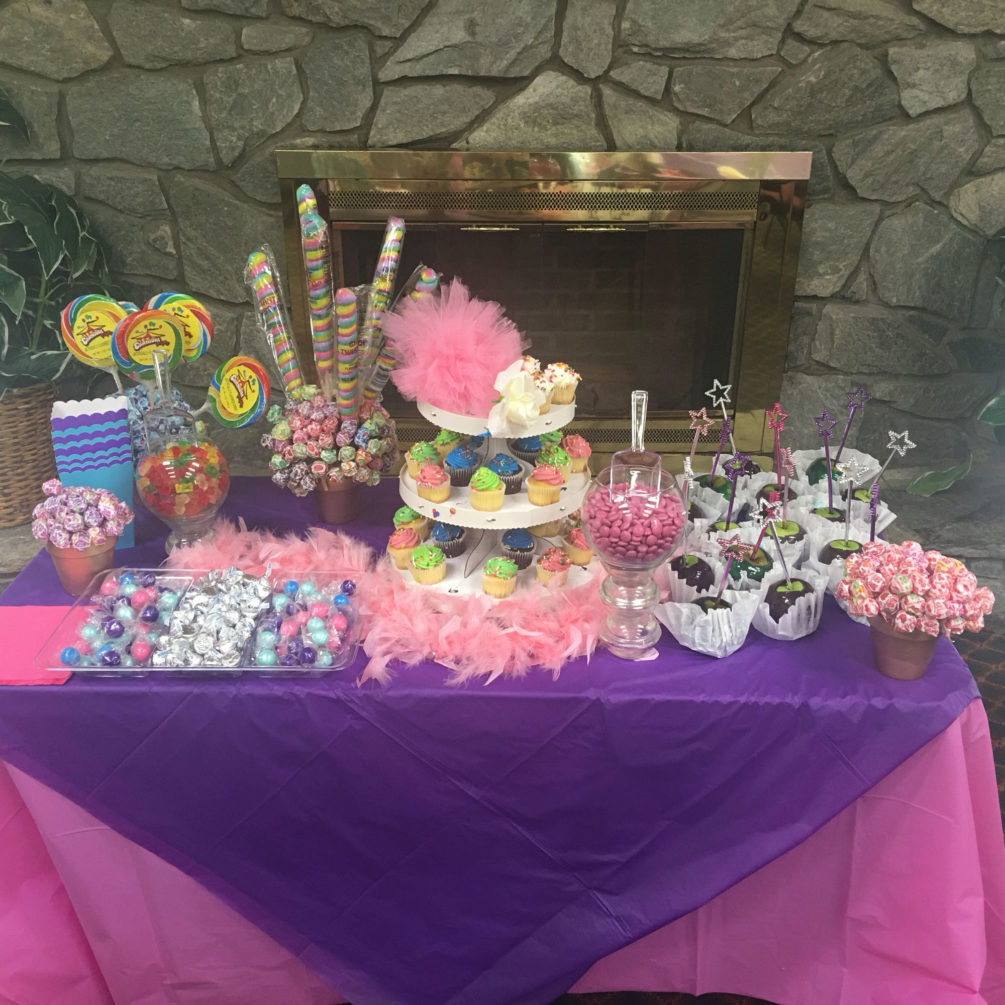Party for my lil girl made lollipop topriary and vases with the party for my lil girl made lollipop topriary and vases with the candies and homemade candy reviewsmspy