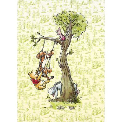 Komar Winnie the Pooh in the Woods 2.8m x 2m Wall Mural