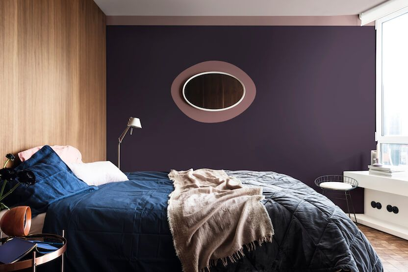 Heart wood flexa slaapkamer 2018 color trend 1 moderne stijl