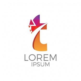 Download Letter T Logo Design For Free Logo Design Letter Logo Inspiration Initials Logo