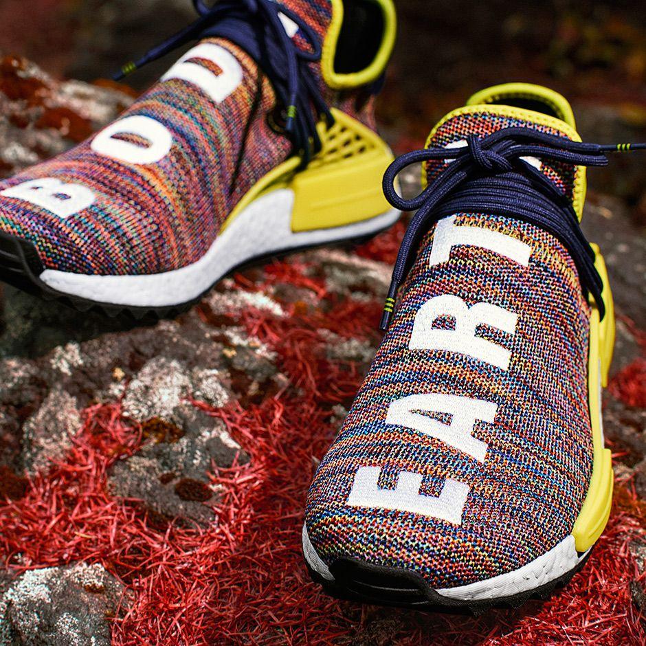 hot sale online 4986d 13e76 Pharrell adidas NMD Human Race Trail Release Info