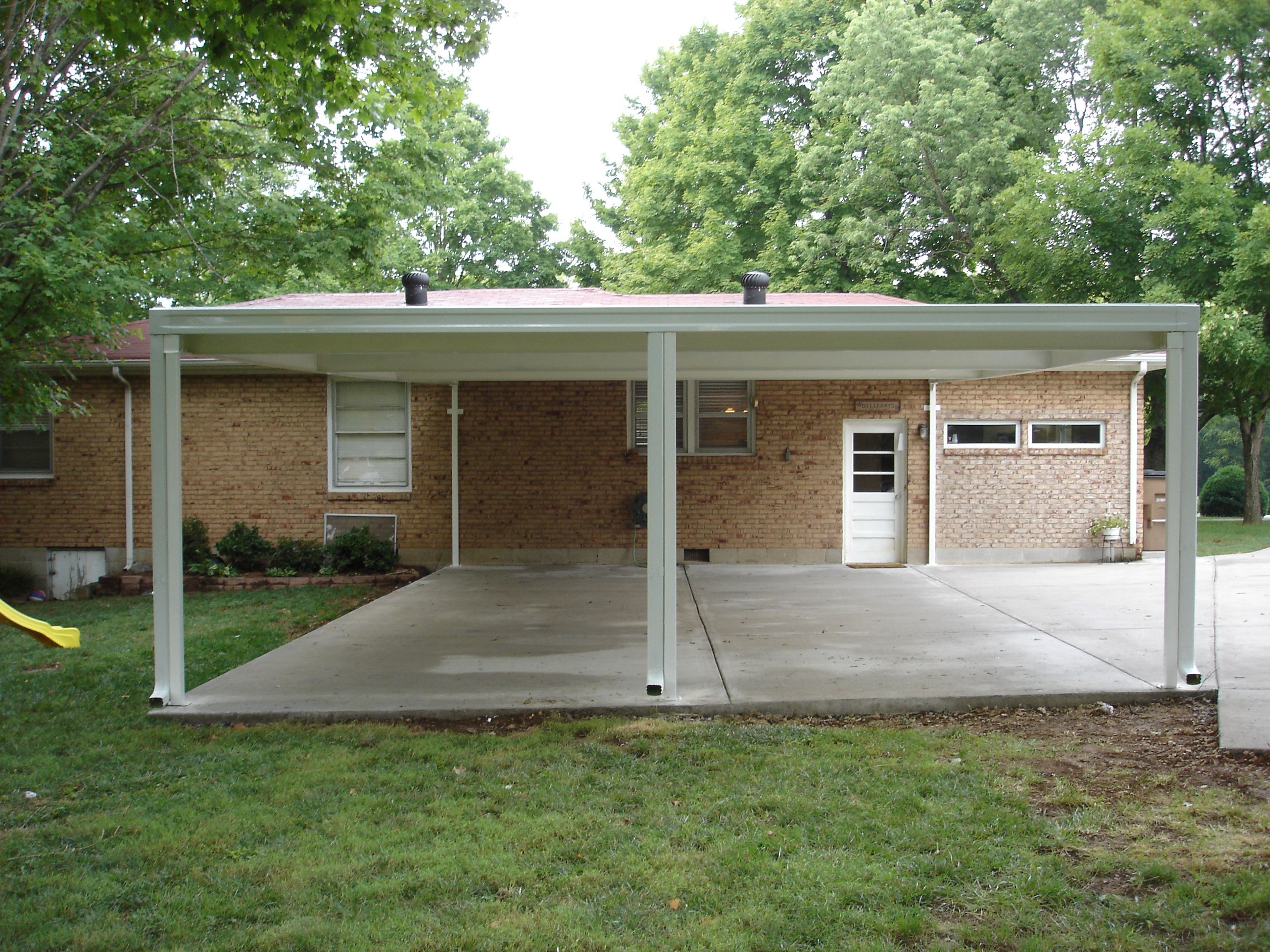 Aluminum carports are a very attractive and durable for Attractive carport