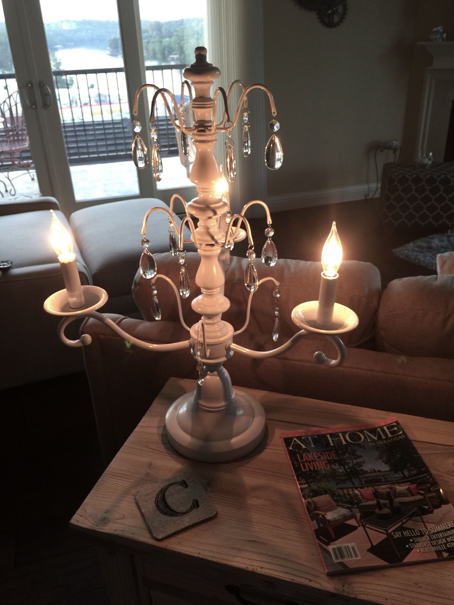 Fabulous New Lamp From At Home Decor Store Springfield Mo Condo