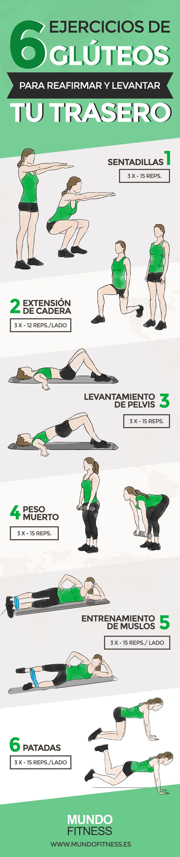 ejercicios para tonificar gluteos abdomen y piernas