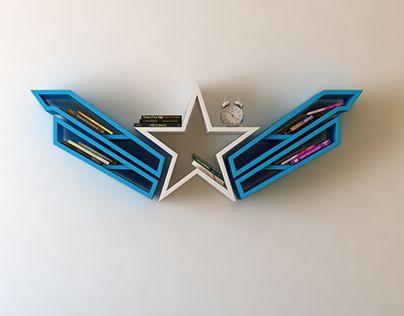 enjoyable design superman shelf. Check out new work on my  Behance portfolio logo shelf