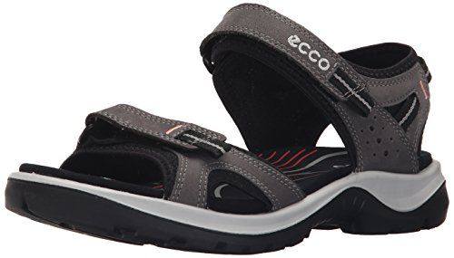 ECCO Womens Yucatan II Outdoor Sandal Dark Shadow 36 EU555 M US ** Read more reviews of the product by visiting the link on the image.