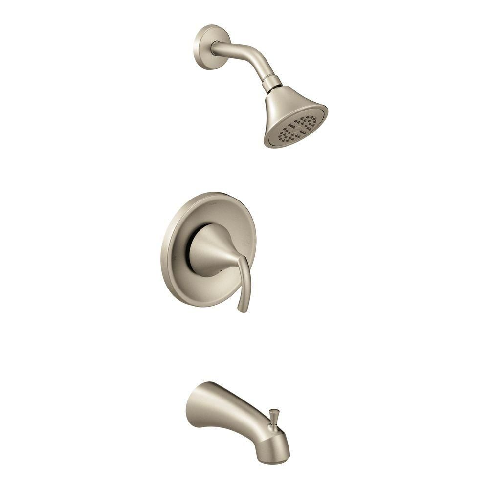 MOEN Glyde Single Handle Eco Performance Posi Temp Tub And Shower Faucet  Trim