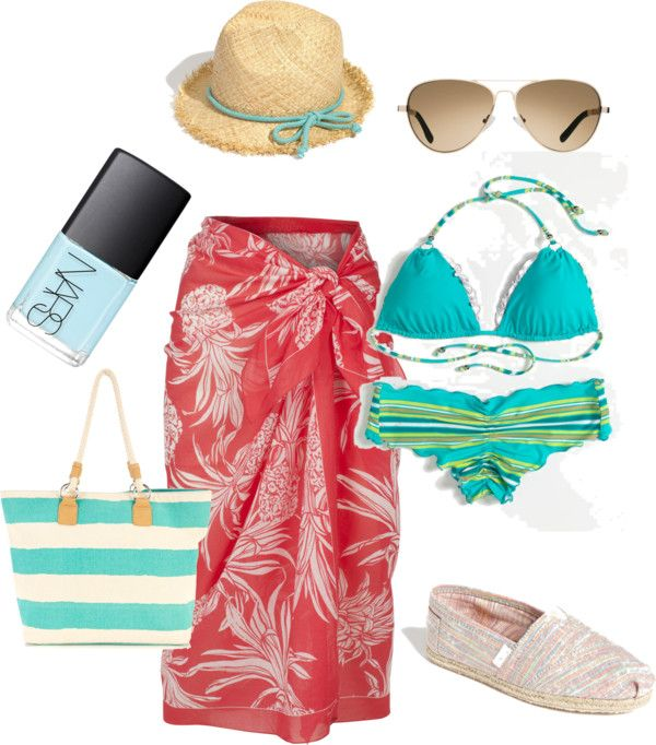"""""""beach time"""" by squareviewstudios on Polyvore"""