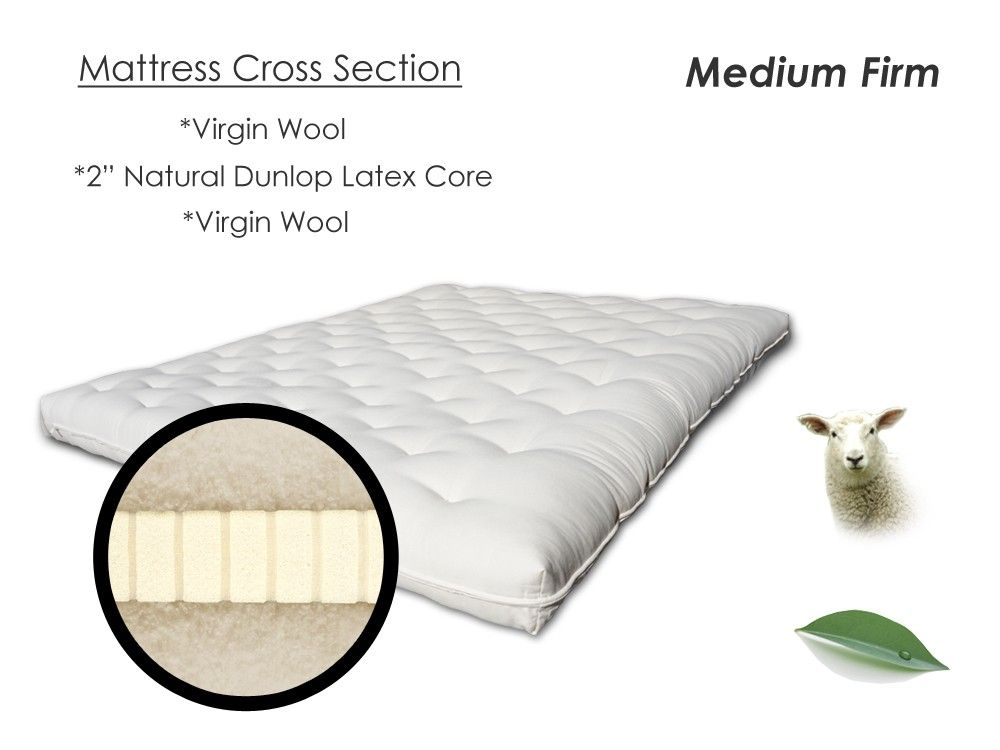 Eco Sofa Chemical Free Bed Mattress Replacement The Futon