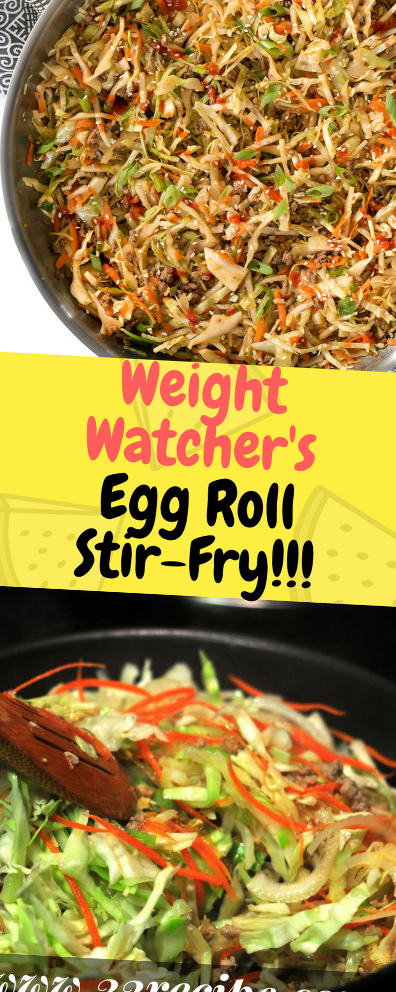 Weight Watcher's Egg Roll Stir-Fry - One of food #cabbagestirfry