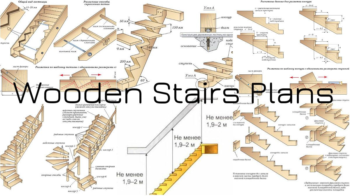 Wooden Stairs Plans That Will Simplify Your Construction Stair Plan Wooden Stairs Diy Staircase