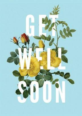 get well soon flowers get well soon card go1019scr blumen zur