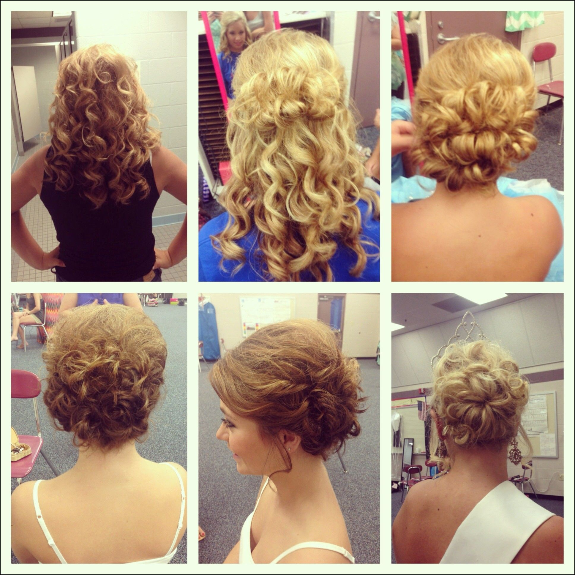 Updo Hairstyles For Pageants Hairstyles Ideas Pinterest