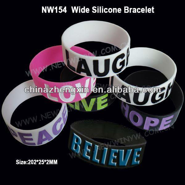 #silicone bracelets, #custom silicone bracelet, #1 inch silicone bracelet custom