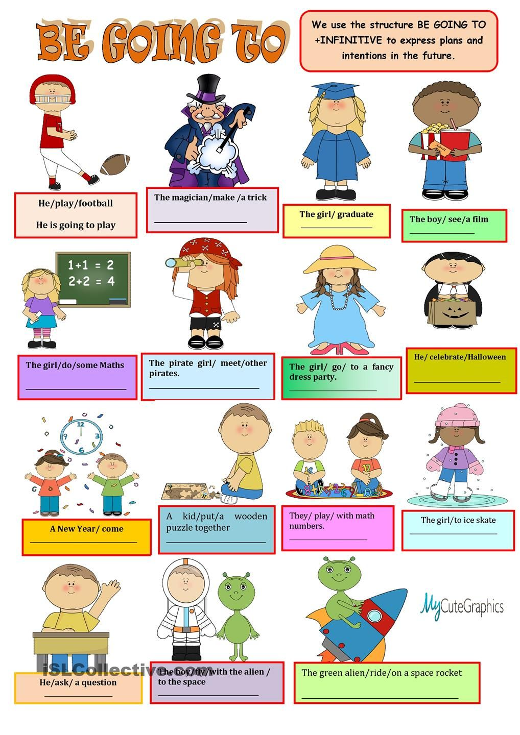 Be Going To Teach English To Kids Learning English For Kids Learn English