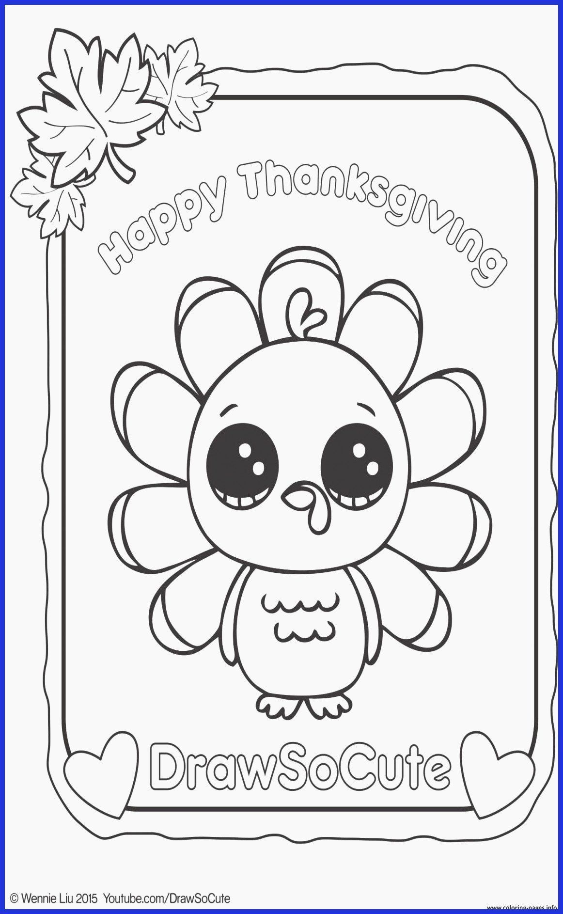 Cute Turkey Coloring Page Youngandtae Com Thanksgiving Coloring Pages Turkey Coloring Pages Cute Coloring Pages